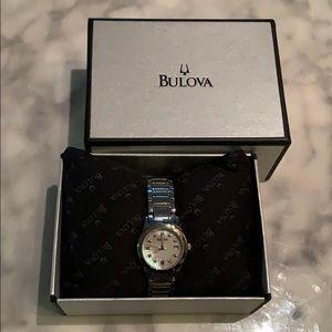 Women's Bulova watch with original box